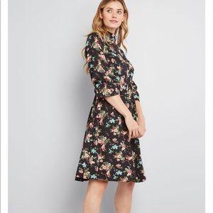 **Reposh** NWT Modcloth Floral Dress